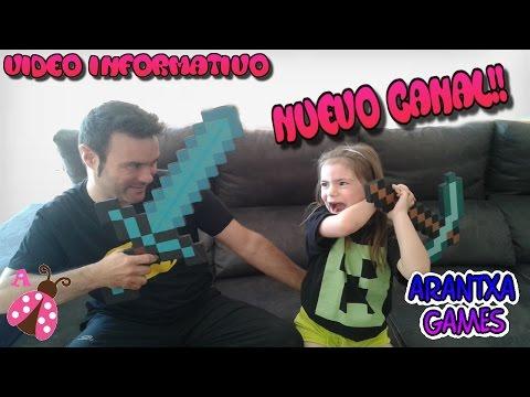 Anuncio de Nuevo Canal ¡Arantxa Games!