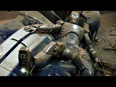 Iron Man - First Flight Scene - Mark 2 Handles Like A Dream - Movie CLIP HD