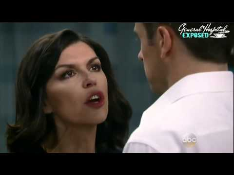 Anna's reaction to Duke being shot...General Hospital 2015 - 5/11/15