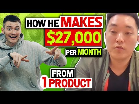 AMAZON FBA SUCCESS STORIES (Our student makes $27,000 A MONTH from ONE PRODUCT)