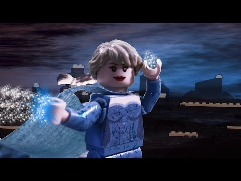 "Frozen ""Let It Go"" LEGO Animation Preformed By Idina Menzel"
