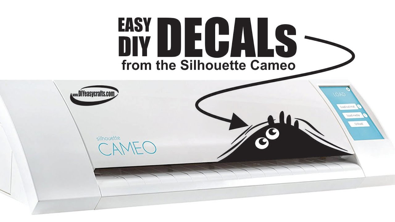 How To Make Vinyl Decals With The Silhouette Cameo Craft Cutting - How to make vinyl decals