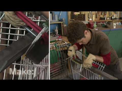 Maker Workshop - Shopping Cart Chair on MAKE: television