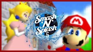 CLG cheese vs akki941 | Super Mario 64 70 Star Speedrun Race | Smash'N'Splash 5