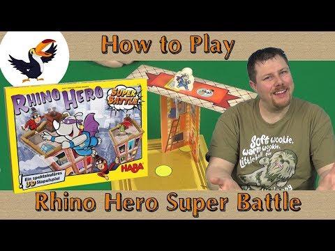 Rhino Hero Super Battle How to play streaming vf