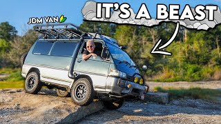 homepage tile video photo for JDM 4x4 Van OFFROAD TEST #1