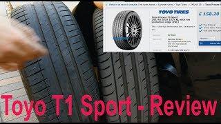 видео Toyo Proxes Sport