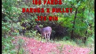 Big Doe Smack-Down! The Barnes X Bullet gets the job done!