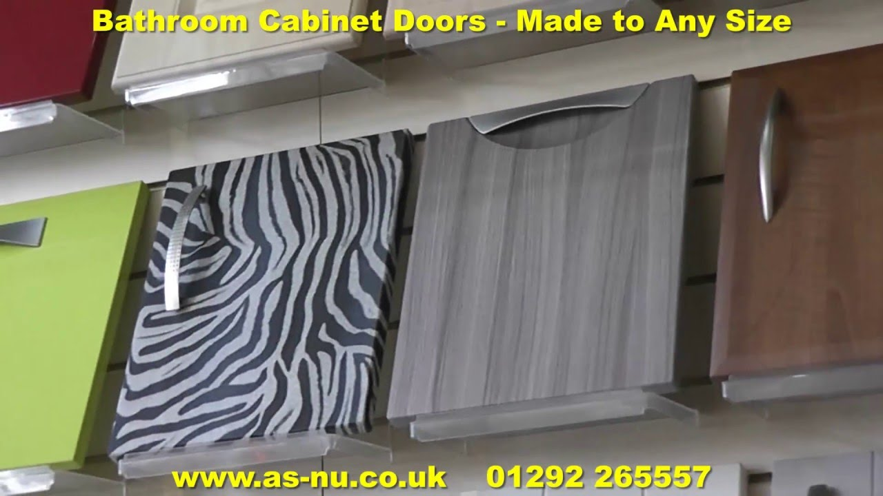 Bathroom Cabinet Doors - Made to Measure Bathroom Doors. - YouTube