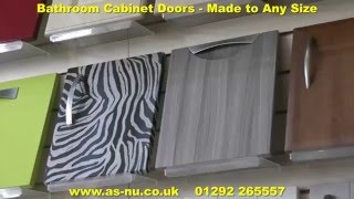 Bathroom Cabinet Doors - Made to Measure Bathroom Doors.