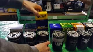 Сравнение фильтров масла VAG 06A115561B и аналогов