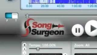 Song Surgeon for Mac - Training Video - Tempo Change or Slow Down