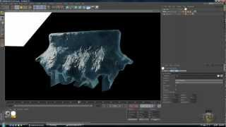 Realflow 5 & C4D Tutorials - Water Bevriezen - Tutorial