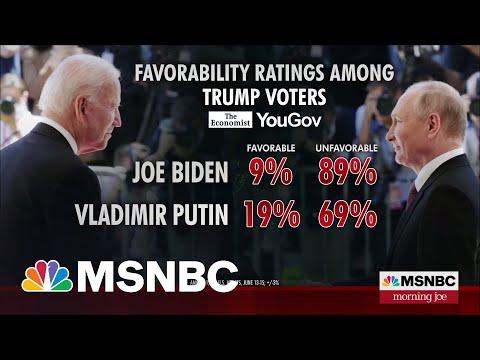 Putin Polls Higher Than Biden Among Trump Voters   MSNBC