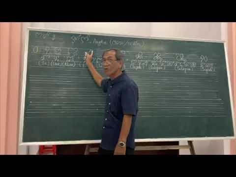 Dạy học tiếng Cham - Bài #05