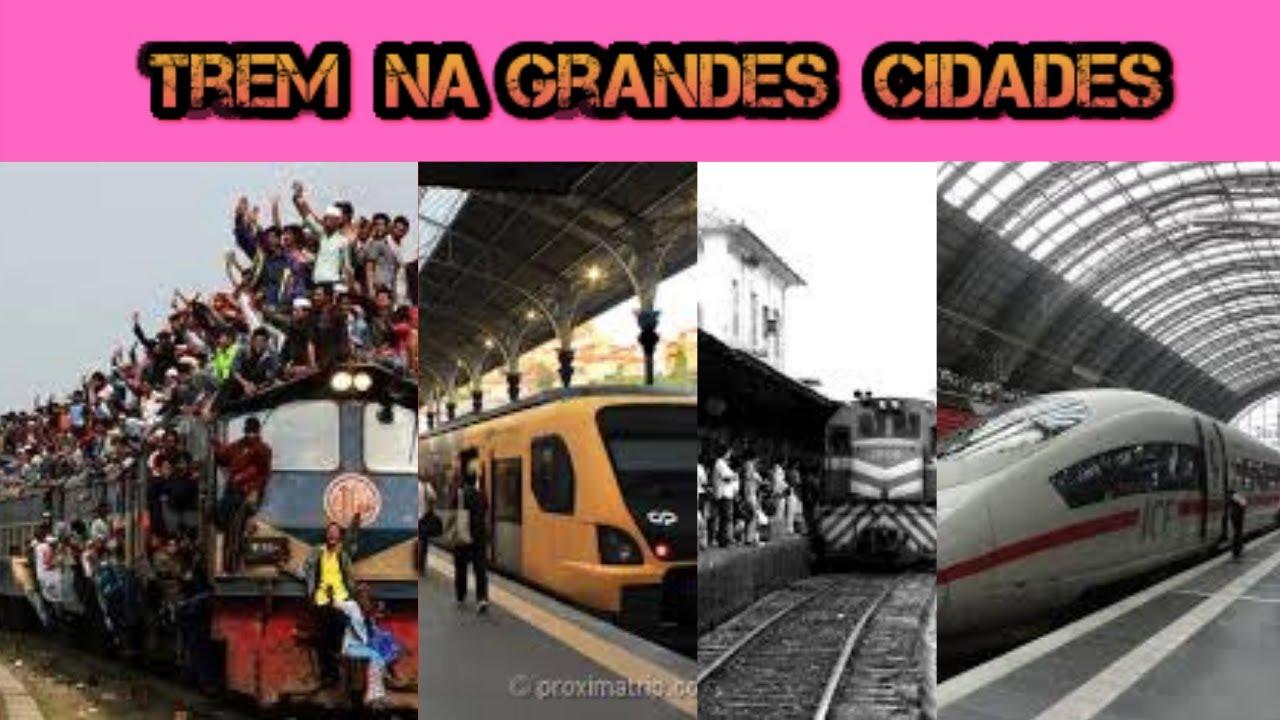 O Clima Bom para Trem  Grandes Cidades? Você tem que ver Isto? Tempo e Bom para os Trem na Cidades?