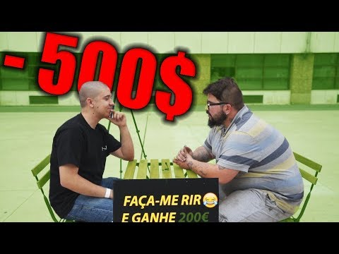 FAÇA-ME RIR E GANHE 200€(1000R$) | NUMEIRO