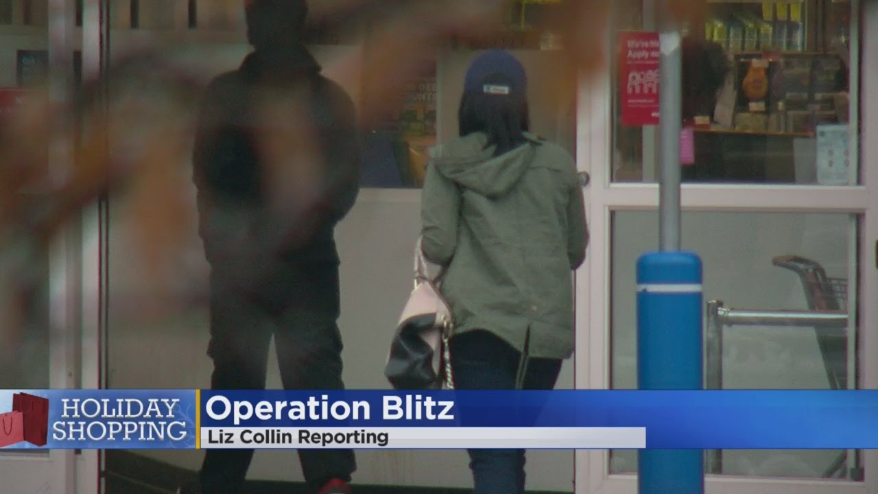 'Operation Blitz' To Target Professional Shoplifters