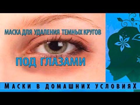 Народные рецепты от синяков и темных кругов под глазами