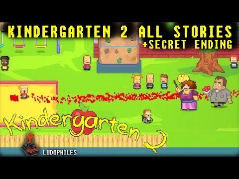 Kindergarten 2 All Stories + Secret Ending Full Playthrough / Longplay / Walkthrough (no commentary)