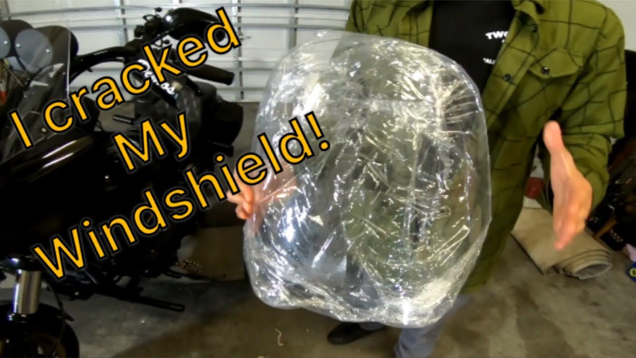 How To: drill a T-Sport Windshield (V2H)
