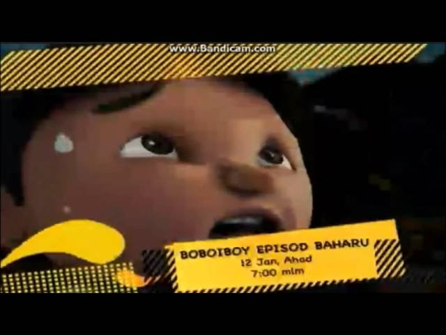 Bananana TV3 - Boboiboy Musim ke-3: episode 2 promo (12.1.2014) Travel Video