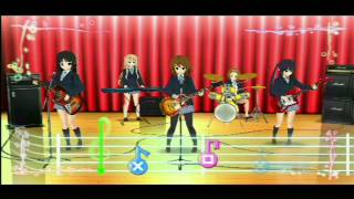 Psp  K-on, Fuwa Fuwa Time, Azusa Gameplay!