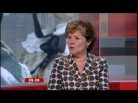 BBC Breakfast  With Imelda Staunton  Cranford
