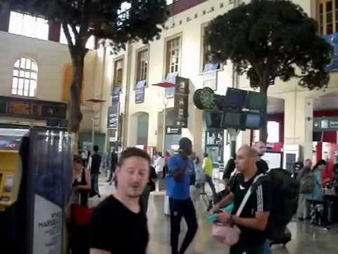 Marseille Train Station June 2016.