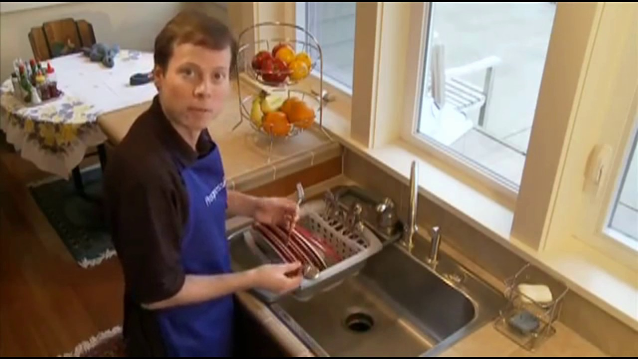 Collapsible Over The Sink Dish Drainer By Progressive