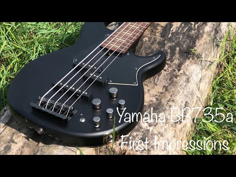 Yamaha BB735a | First Impressions Review | Short Tone Demo