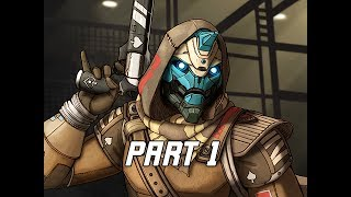 DESTINY 2 Walkthrough Part 1 - Opening Mission (PS4 Let's Play Gameplay Commentary)