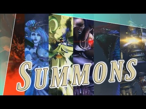 Summons Detail - Dissidia Final Fantasy NT (DFFAC/DFFNT)