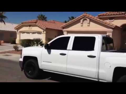 2014 Chevrolet Silverado Plasti Dip Stock Wheels Part 3