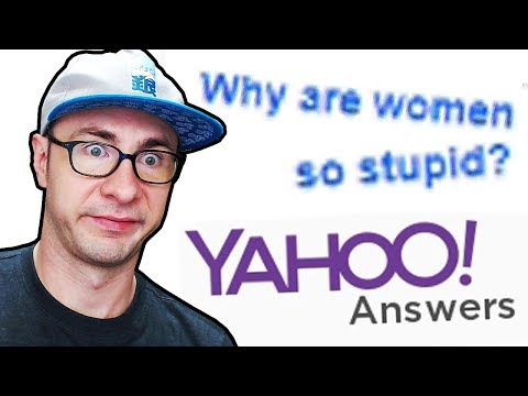 FOREVER SINGLE PERSON ASKS STUPID QUESTION // Yahoo Answers (4)