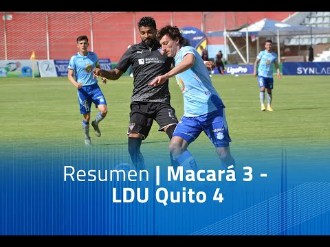 Macara LDU Quito Goals And Highlights