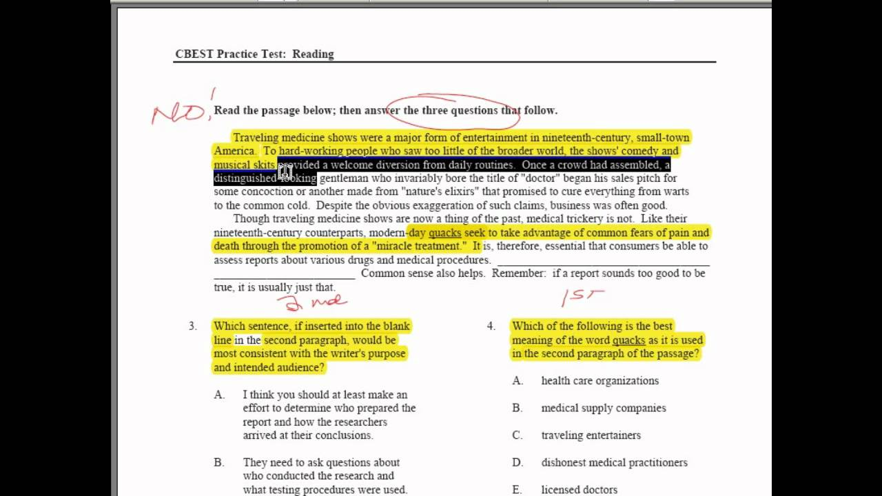 cbest essay prompts Cbest essay writing tips cbest practice test questions – secrets revealed by licensed educators - duration: 1:09 cbest test prep 350 views.