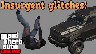 insurgent glitches - GTA online guides