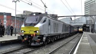 HD 68014 Thrashes Leeds on Yuletide Yorkshire Explorer 1Z68  5Z68 06122014
