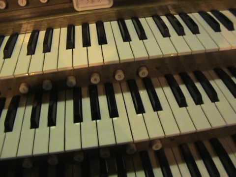 New Phoenix Organs Pedal Stops - All Saints Church Oystermouth Swansea