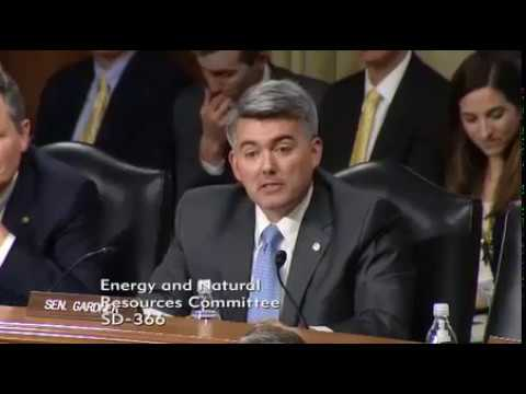 U.S. Senator Cory Gardner (R-Colo.) Calls for BLM to be Moved West