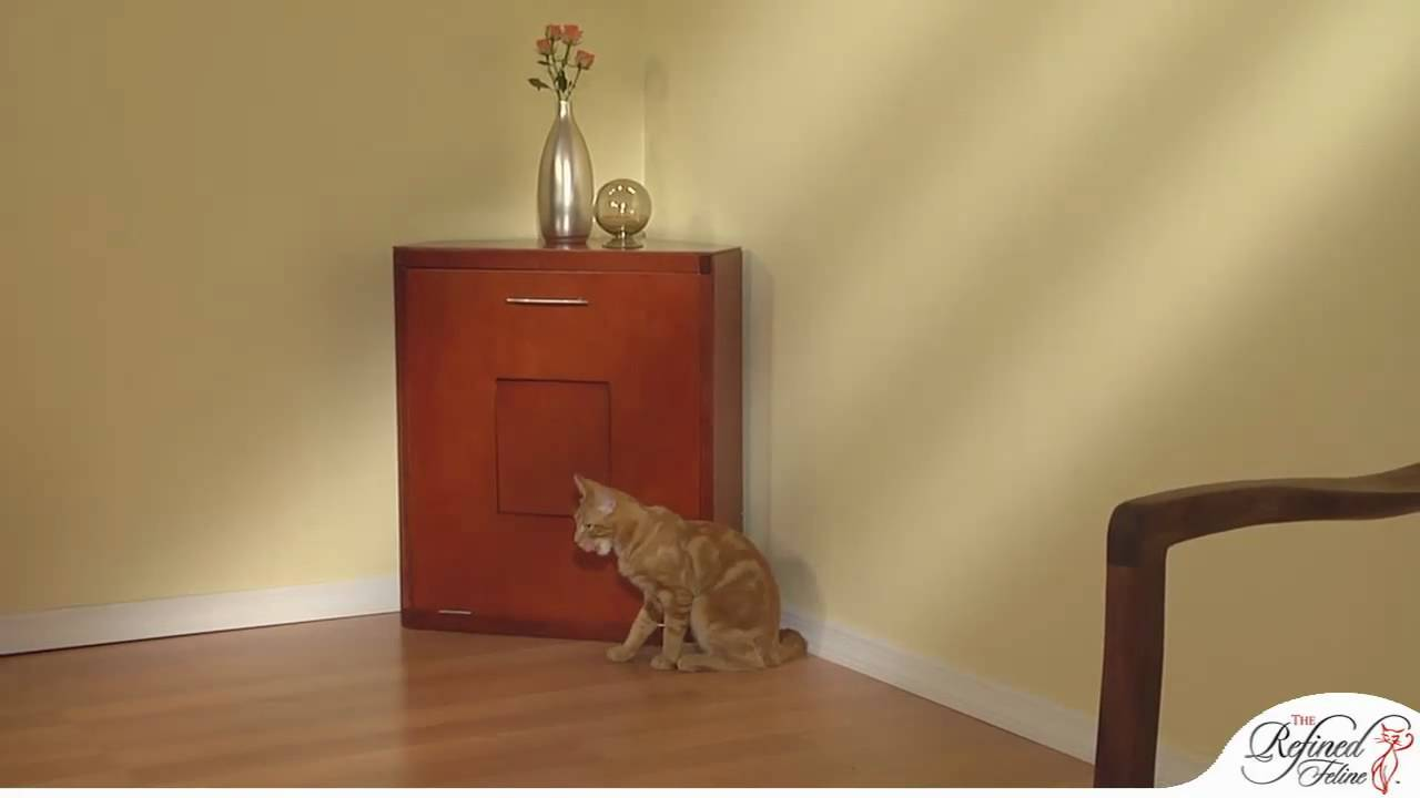 corner cat litter box furniture. Unique Litter Corner Cat Litter Cabinet From The Refined Feline Intended Box Furniture R