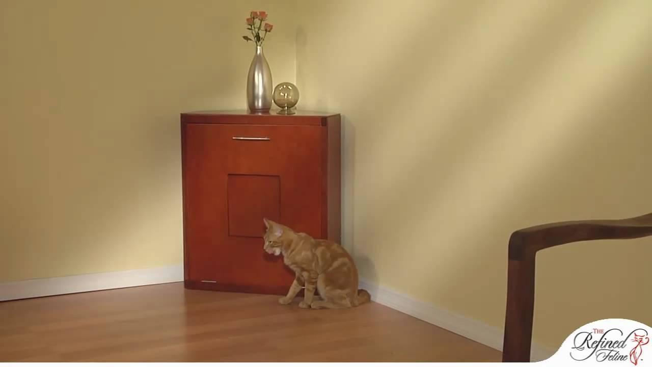 corner cat litter box furniture. Corner Cat Litter Cabinet From The Refined Feline Box Furniture R