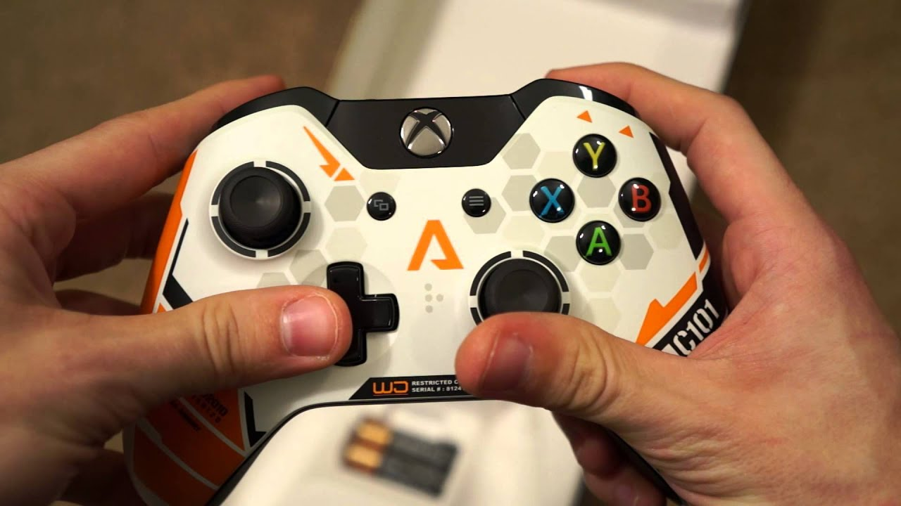 Titanfall Limited Edition Xbox One Wireless Controller ... Xbox One Titanfall Controller