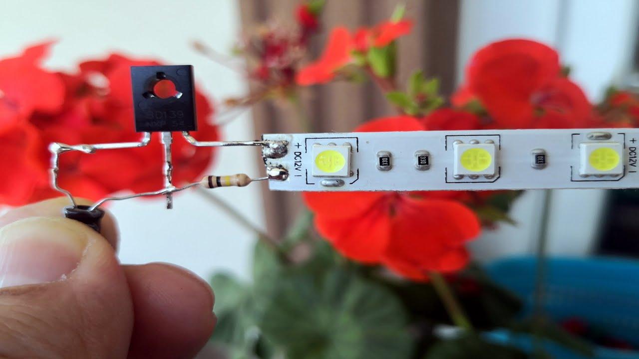 12 VOLT LED FLAŞÖR DEVRESİ - BASİT LED FLAŞÖR YAPIMI - 12V LED Flasher Circuit #LED #Flasher#CİRCUİT