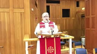 Sermon, Palm Sunday, March 28, 2021