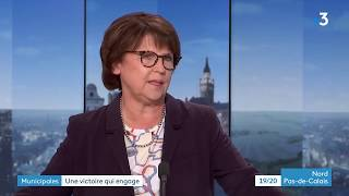Municipales : Martine Aubry, Réélue à Lille, Invitée Du 19/20  2e Partie