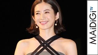 高垣麗子、ベアトップワンピでキュート&セクシーに 「The Tabelog Award 2017」授賞式3