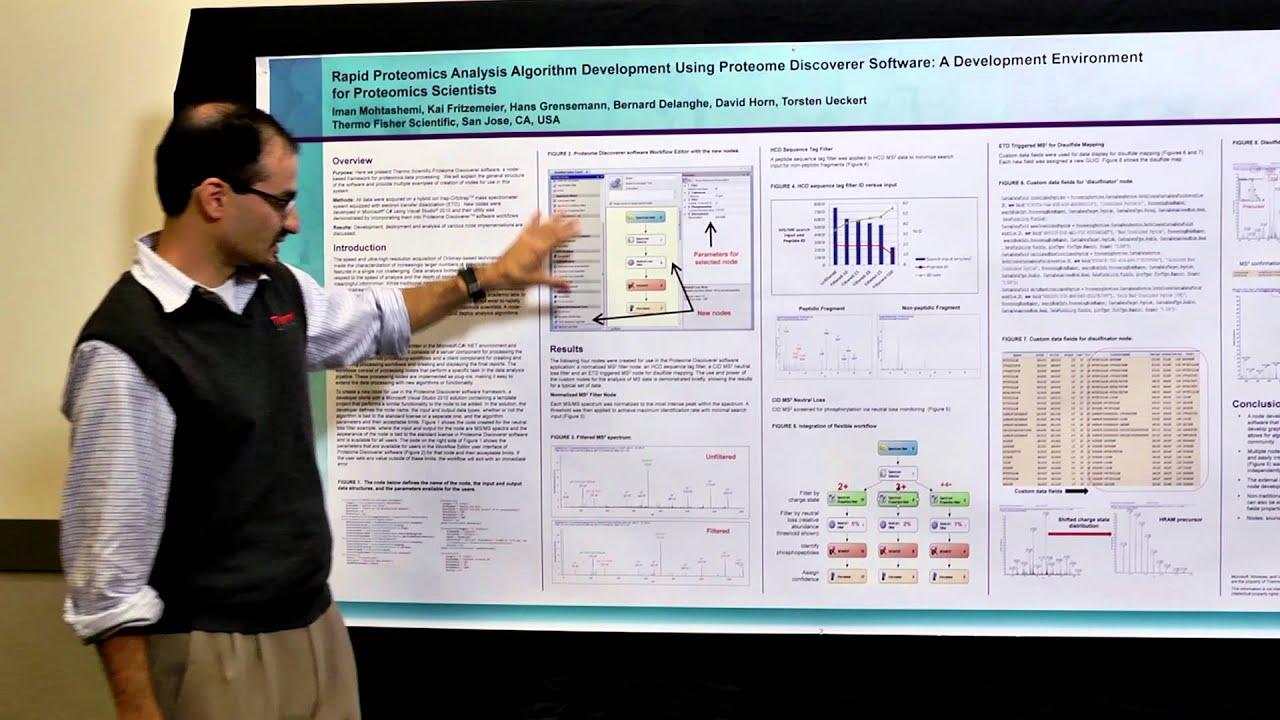 rapid proteomics analysis algorithm development using thermo scientific proteome discoverer software youtube