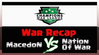 Recap  CWL Lite Week 4 | MacedoN VS NationOfWar